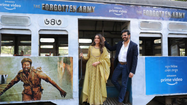 Kabir Khan And Sharvari Promote 'The Forgotten Army' In Kolkata