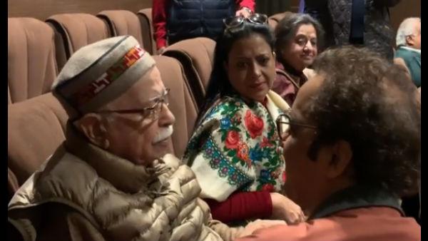 Video: LK Advani In Tears After Watching Shikara