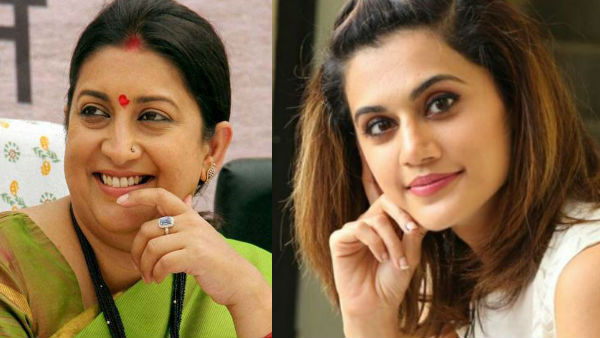 Taapsee Pannu Reacts To Smriti Irani's Praise For Thappad: 'Happy We All Connect On This Issue'