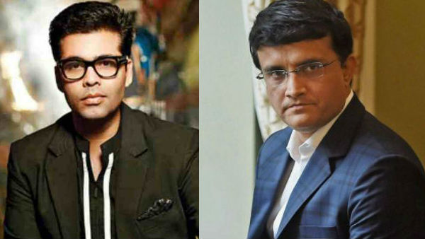 Karan Johar To Make A Sourav Ganguly Biopic?