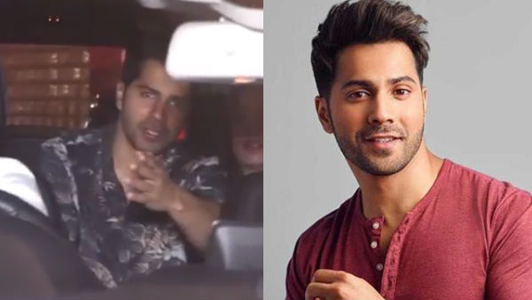 Varun's Car Accidentally Runs Over Photographer's Foot