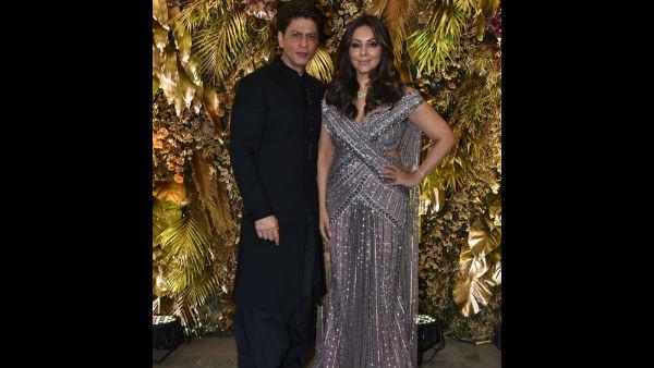 Armaan Jain Wedding Reception: Shah Rukh & Gauri Khan Make Our Hearts Pop With Their Wow Appearances