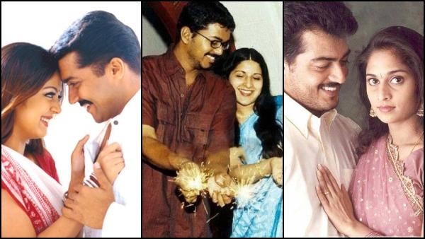 Vijay-Sangeetha, Ajith-Shalini & More: Star Couples Who Set Major Couple Goals This Valentines Day!