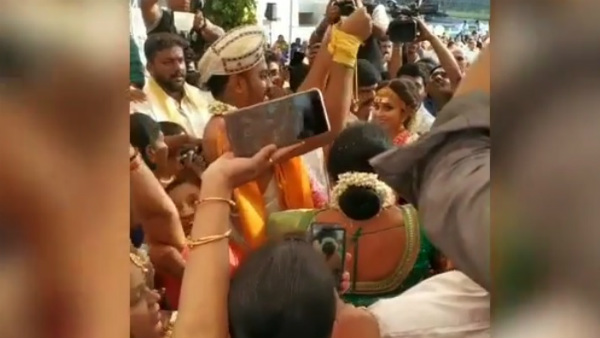 Chandan Shetty & Niveditha Gowda Wedding Pictures Out