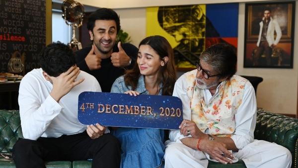 Ranbir Kapoor-Alia Bhatt's Brahmastra Gets A New Release Date: To Release In Five Languages!