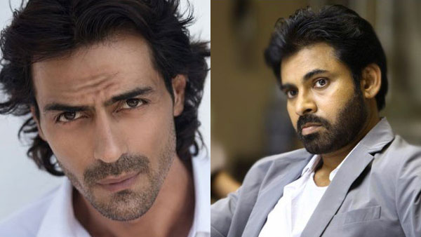 Arjun Rampal To Star In Pawan Kalyan's Film?