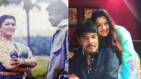 Khushbu Sundar Gets Nostalgic About Her Proposal Day, Posts Romantic Message For Sundar C
