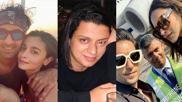 Kangana Ranaut's Sister Rangoli Slams Ranveer-Deepika, Ranbir-Alia For Their Vacation Pictures