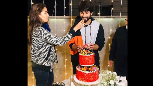 Shahid Kapoor's Birthday Celebrations: Actor Cuts A Cake In Presence Of Wife Mira Rajput & Others