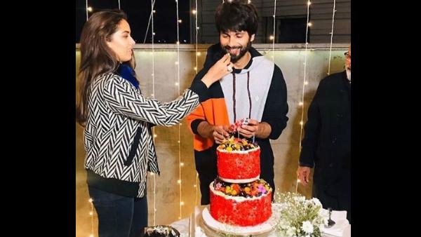 Inside Shahid Kapoor's Birthday Celebrations
