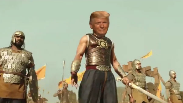 Meme-Fare! Prabhas' Baahubali Avatar Wins Over Donald Trump