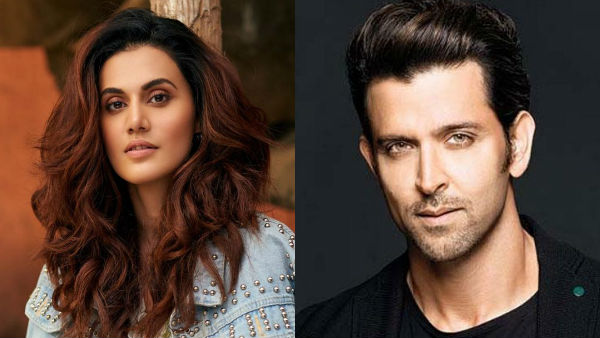 Taapsee Pannu Confesses She Is A Big Fan Of Hrithik Roshan: 'Will Conspire To Do A Film With Him'
