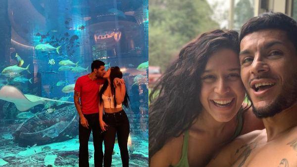 Krishna Shroff Gets Cozy With Boyfriend Eban Hyams On Vacation; Calls Him 'Her Favourite Fish'