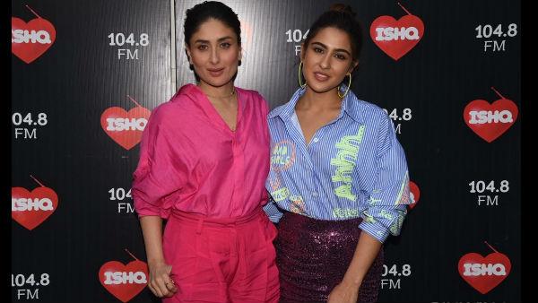 What's With The Awkwardness Brewing Between Kareena Kapoor Khan And Sara Ali Khan?