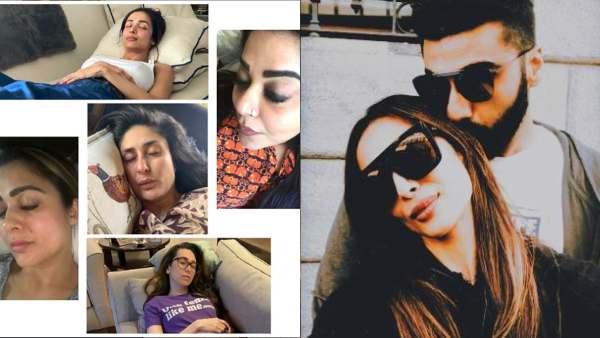 Arjun Kapoor Roasts GF For Smiling While Napping; Malaika Arora Says, She Smiles While Sleeping
