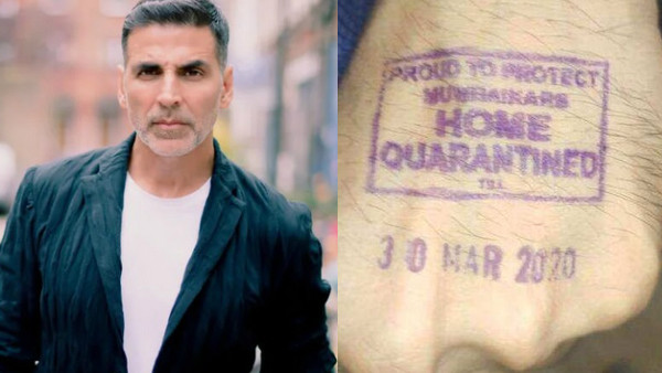 Akshay Kumar Slams People Who Disregard 'Home Quarantined' Stamp: 'What Kind Of Mentality Is This?'
