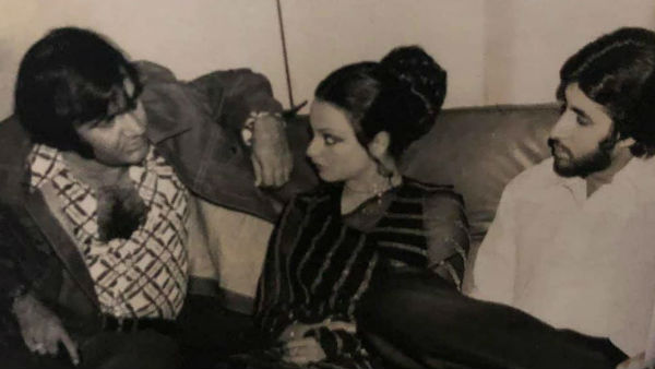 Big B-Rekha's Rare Pic Goes Viral