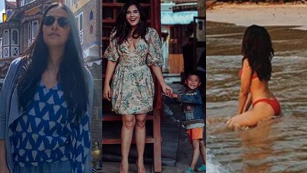 Neha Dhupia, Richa Chadha, Sobhita Dhulipala Soak In Nature While Practising Social Distancing