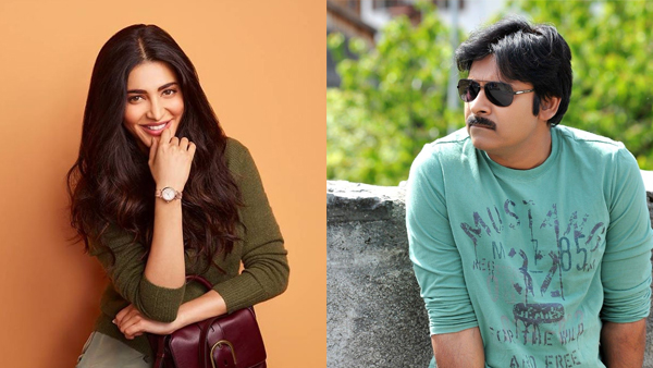 Here's Why Shruti Haasan Feels Being Paired Opposite Pawan Kalyan In Vakeel Saab Is Special