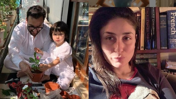 Saif Ali Khan On How He Is Spending Lockdown Time: Taimur, Bebo And I've Been Growing Tomato Plants