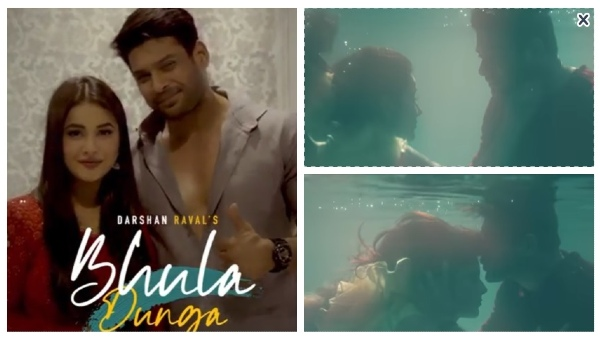 Also Read: Bhula Dunga: Sidharth Convinced Sana To Do Underwater Scene; Actor Spent More Than 3 Hours In Pool!