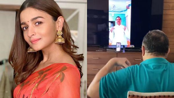 Alia Bhatt Encourages Rishi Kapoor Taking Virtual Yoga Lessons During Quarantine