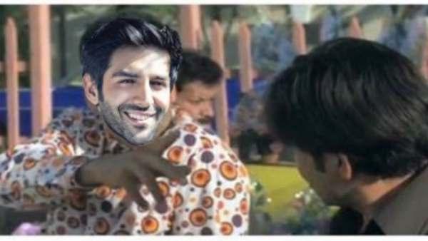 Kartik Aaryan Photoshops Himself On Akshay Kumar's Phir Hera Pheri Meme For A New Take On Lockdown