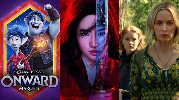 Hollywood March 2020 Releases You Cannot Miss: Onward, Mulan, A Quiet Place II And More!
