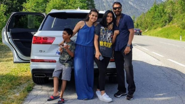 COVID-19: Ajay Squashes Rumours About Nysa-Kajol's Health