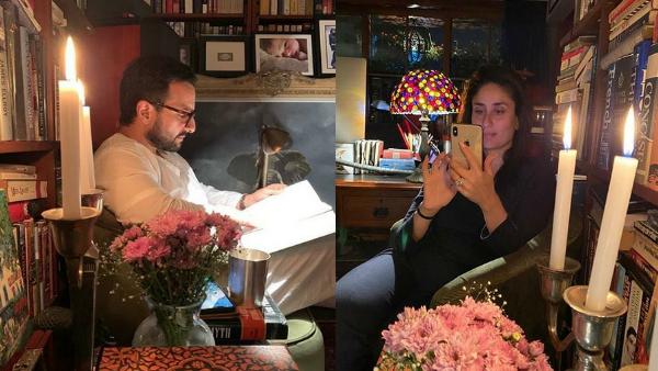 Saif Ali Khan Is 'Booked' While Wife Kareena Kapoor Is Busy On Instagram Amid Coronavirus Scare!