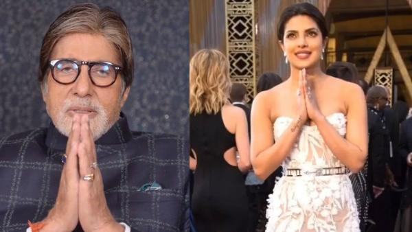 Coronavirus Outbreak: Amitabh Bachchan, Priyanka Chopra Issue Advisory To Fans To Stay Safe