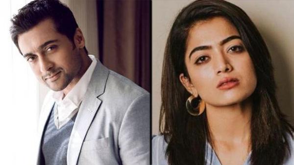 Rashmika Mandanna To Romance Suriya In Aruvaa?
