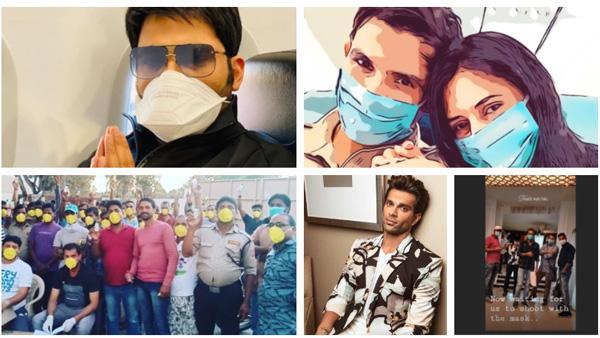 Also Read: Coronavirus Effect: Vindu Dara Singh Postpones Bigg Boss Party; Actors Shoot With Masks On & More!
