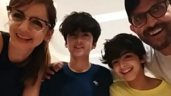 Here's How Hrithik-Sussanne Celebrated Son Hrehaan's B'day!