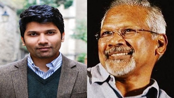 Mani Ratnam and his son Nandan