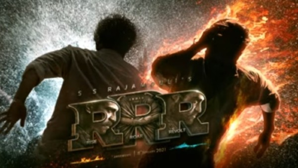 RRR motion poster: Rajamouli's next is all about 'Rise, Roar, Revolt'