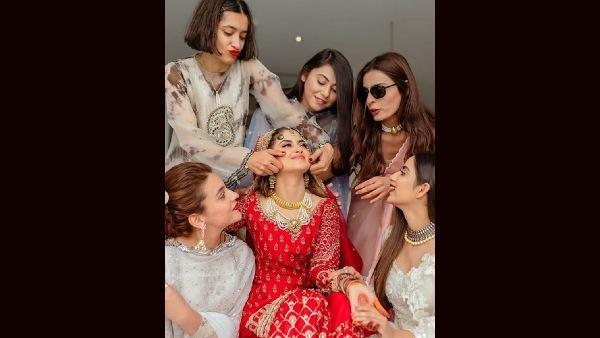 Sajal Gets Goofy With Her Girl Gang
