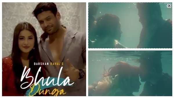 Bhula Dunga: Sidharth Convinced Sana To Do Underwater Scene; Actor Spent More Than 3 Hours In Pool!