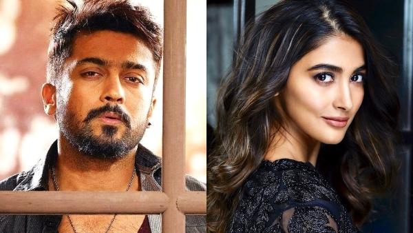 Suriya To Romance Pooja Hegde In Aruvaa?