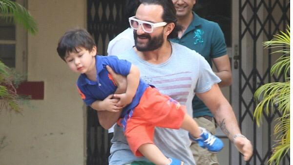 WATCH: Taimur Makes Surprise Appearance In Saif's Interview!