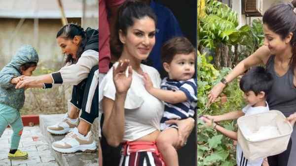 B-Town Stars Sunny Leone, Shilpa Shetty, Neha Dhupia And More On Parenting In Quarantine