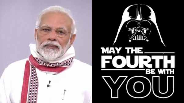 Fans Can't Keep Calm As PM Modi Announces Lockdown 2.0 Will Be Lifted On May 4- Star Wars Day