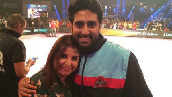 Abhishek Bachchan Teases Farah Khan On Twitter; Asks Her To Make A Work-Out Video