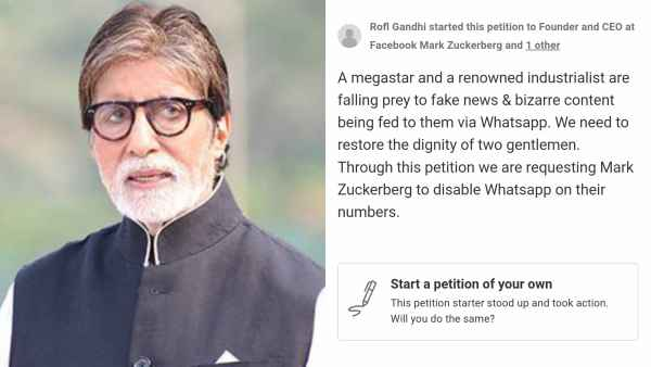 Fans Want Amitabh Bachchan To Disable Whatsapp Account
