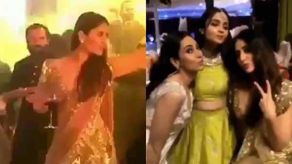 Watch Video: Kareena Kapoor Khan Bonds With Alia Bhatt, And Dances With Shy Saif At Sonam's Wedding