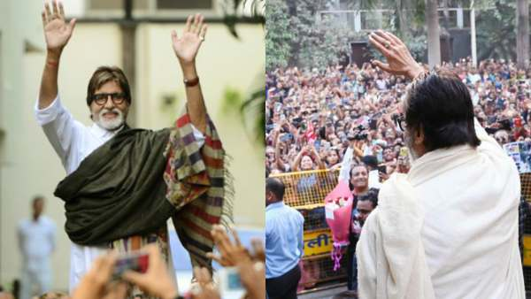 Amitabh Bachchan Misses The Huge Crowd Of Fans Visiting His House For Sunday Darshan Amid Lockdown