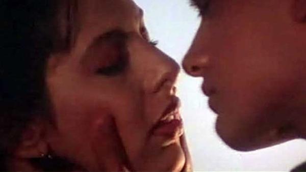 When Aamir Khan Had An Awkward Moment While Kissing Pooja Bedi - FilmiBeat