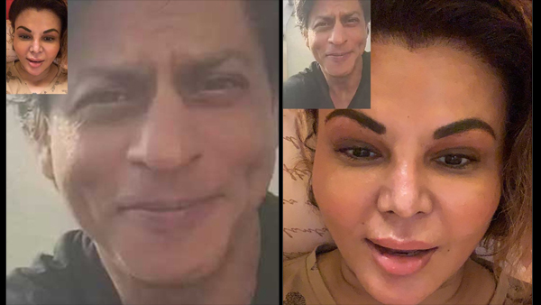 Rakhi Shares Snapshot Of 'FAKE' Video Call With SRK