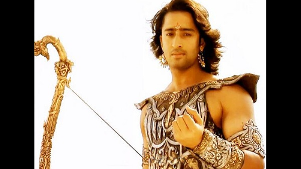 Shaheer Sheikh Says He Couldn T Speak To Anyone For Days After Shooting Draupati S Cheer Haran Scene Shaheer Sheikh As Arjun In Mahabharat Filmibeat