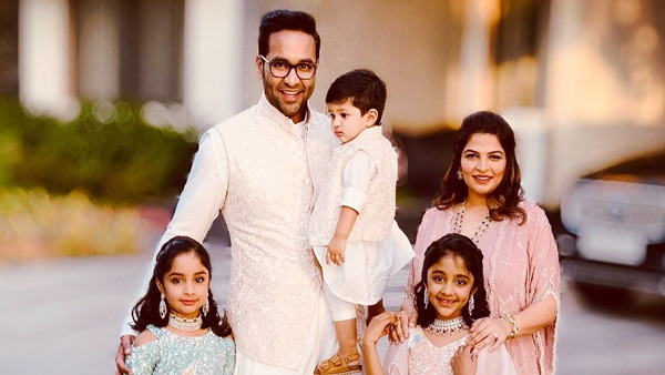 Vishnu Manchu Gets Emotional As His Wife And Kids Are Stuck In USA; Watch Video